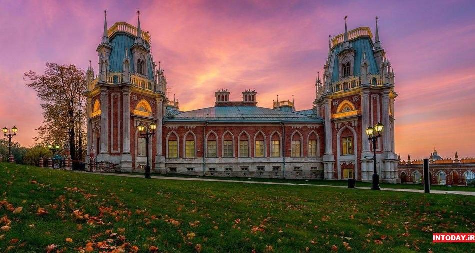 کاخ موزه تساریتسنو مسکو