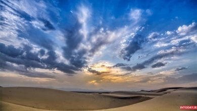 تصویر از کویر کاراکال یزد | راهنمای بوم گردی