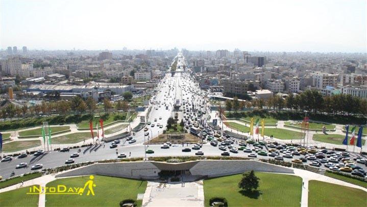 جمعه گردی تهران