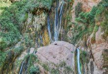 تصویر از آبشار نوژیان لرستان کجاست؟