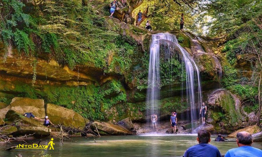 هفت آبشار درازکالا در بابل