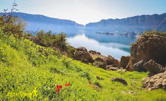 دریاچه شهیون دزفول در روستای پامنار
