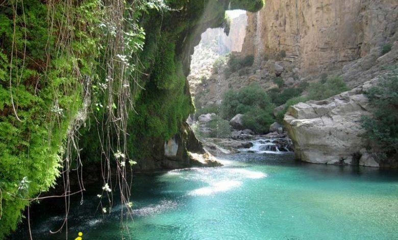 روستای تنگ براق استان فارس