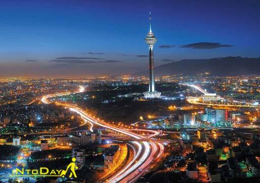 جاذبه های دیدنی تهران در شب