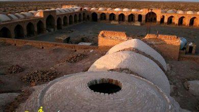 کاروانسرای دیر گچین از اماکن تاریخی قم