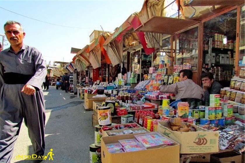 بازارچه مرزی مهران