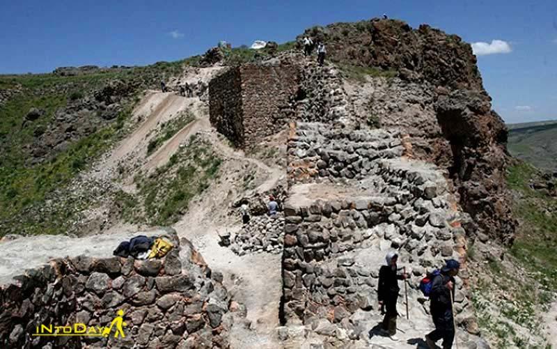 تپه باستانی آناهیتا از اماکن تاریخی سرعین