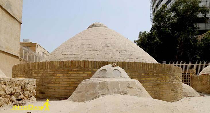 حمام گله داری از اماکن تاریخی بندرعباس