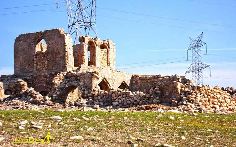 قلعه حسینی از جاهای دیدنی اندیمشک