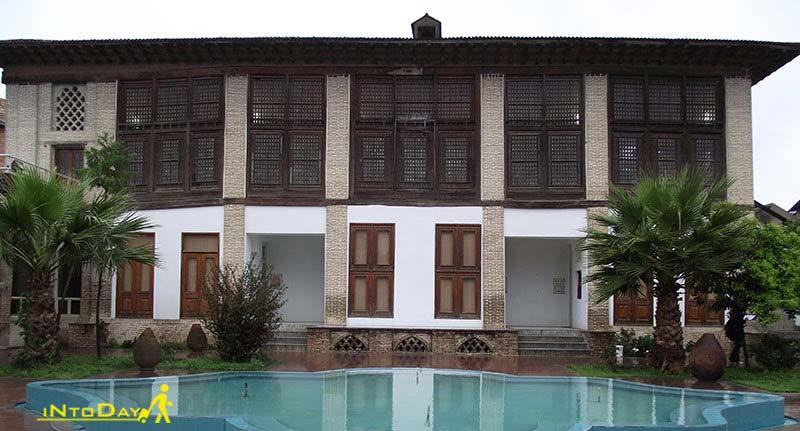 خانه کلبادی از جاذبه های تاریخی ساری