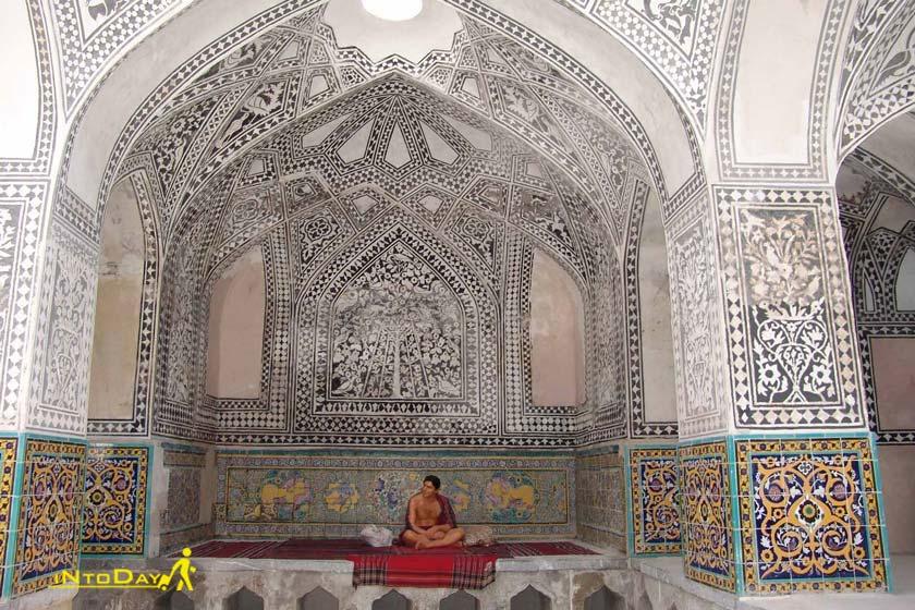 حمام خان از جاذبه های تاریخی سنندج