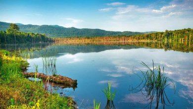 دریاچه الندان کیاسر