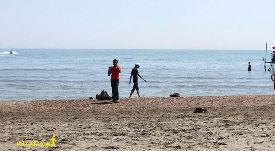 پیاده روی ساحل گیسوم