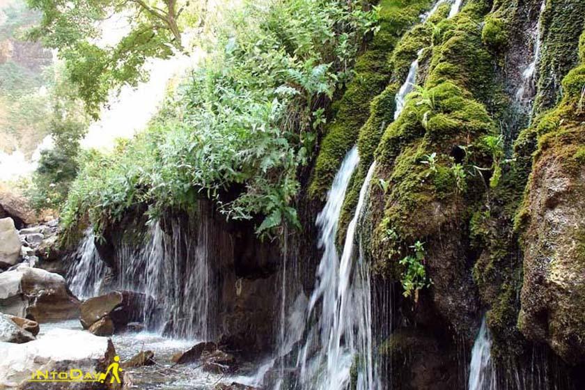آبشار هفت چشمه کرج یا آبشار آدران