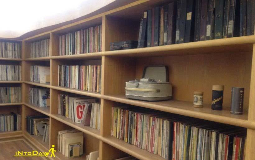 کتابخانه موزه موسیقی تهران