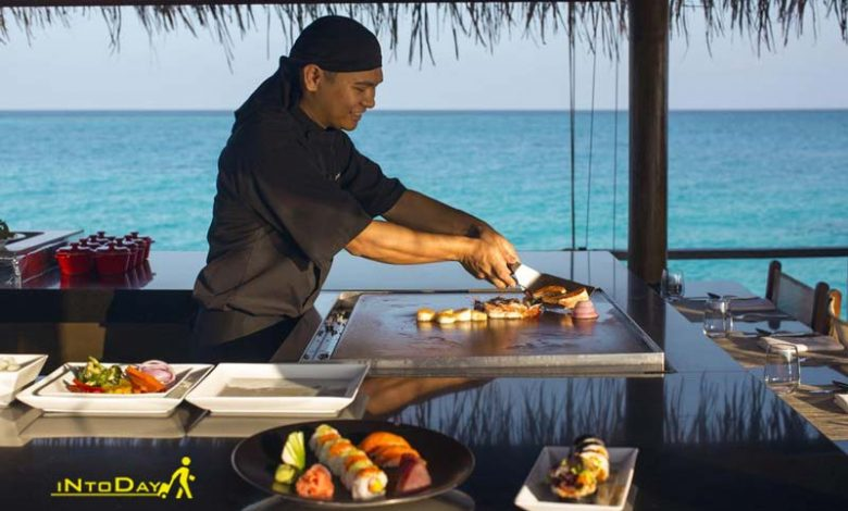 سرآشپز هتل ولاسارو مالدیوز