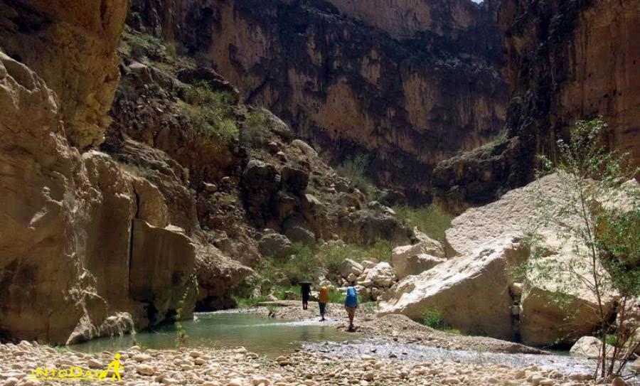 تنگه هایقر فیروز آباد گرند کنیون ایران
