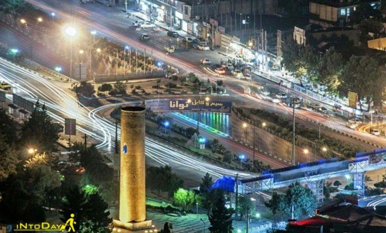 مناره آجری خرم آباد