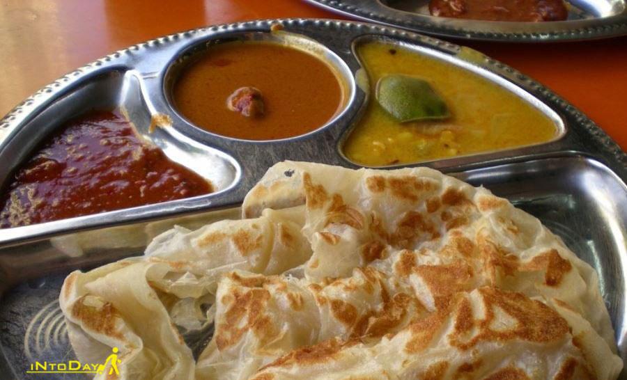 روسی کینای از غذاهای خیابانی مالزی