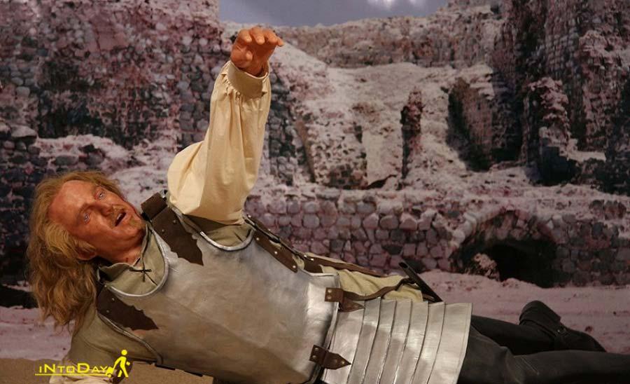 سرباز پرتغالی در موزه مردم شناسی خلیج فارس