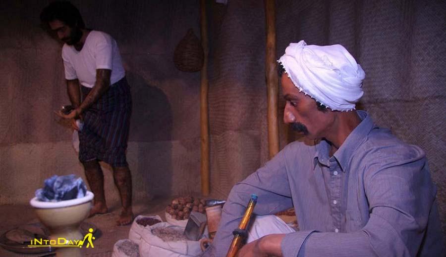 بخش مردم شناسی موزه خلیج فارس