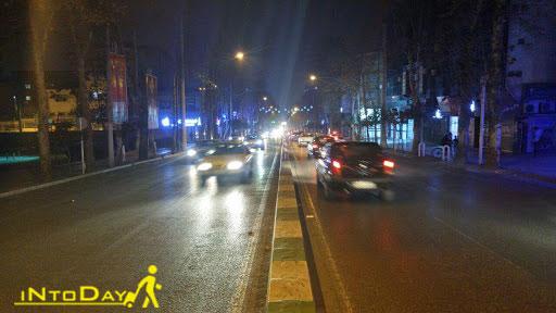 خیابان ولیعصر گرگان یا شالیکوبی سابق