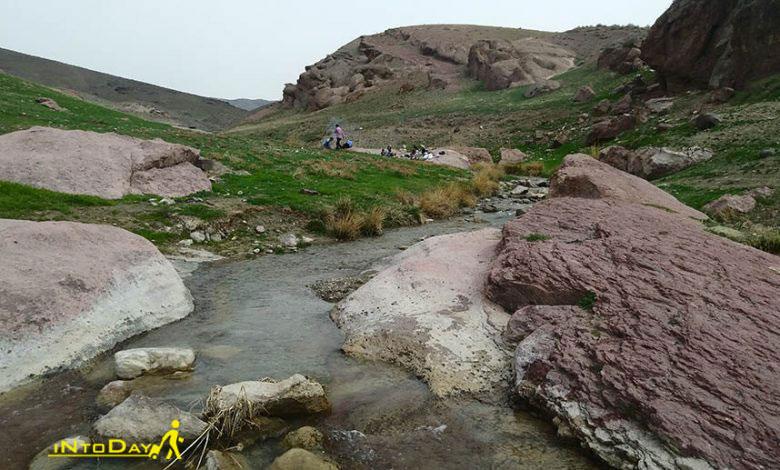 روستای جزمه قزوین در آبیک