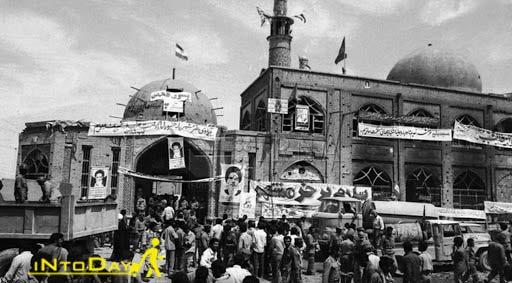 مسجد جامع خرمشهر در زمان جنگ