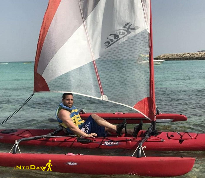 قایق سواری در کیش