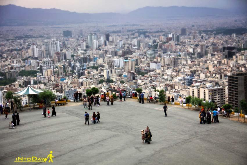 بام تهران ولنجک