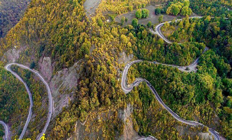 جاده توسکستان گرگان تا شاهرود