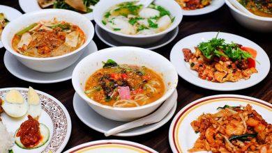 تصویر از هزینه غذا در مالزی با خورد و خوراک