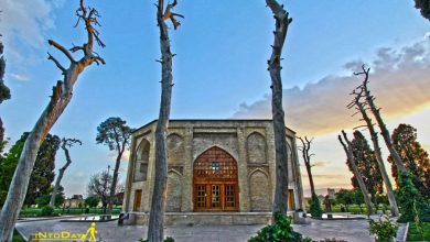 باغ جهان نما شیراز کجاست؟