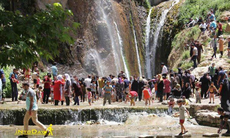 آبشار بی بی سیدان سمیرم