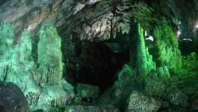 تصویر از غار دربند کجاست ؟ نقشه