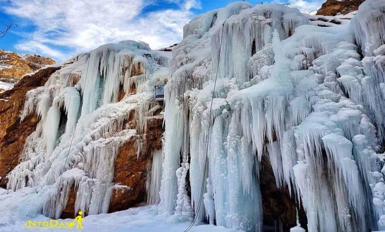 آبشار یخی هملون تهران