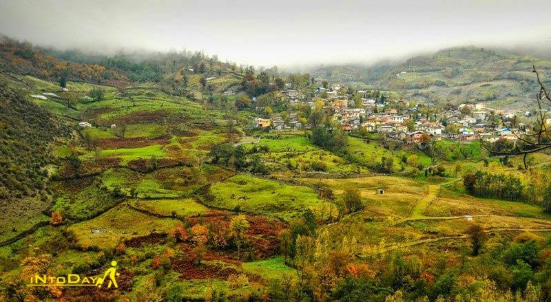 روستای لاویج نور