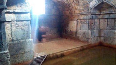 تصویر از چشمه آب گرم ورتون کجاست ؟