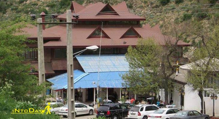رستوران آبی جاده چالوس