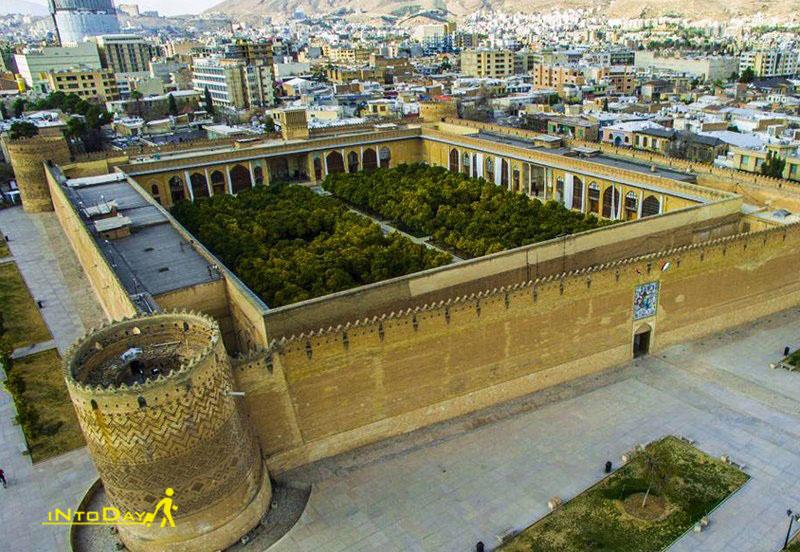 شهر توریستی شیراز رتبه دو