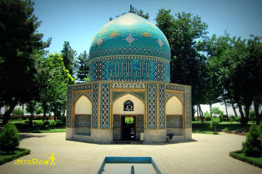 عکس مقبره عطار در نیشابور