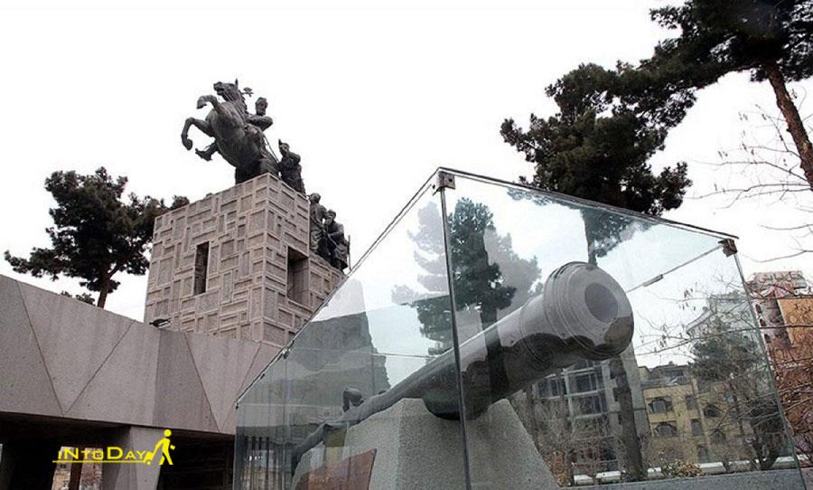 عکس باغ موزه نادری در مشهد