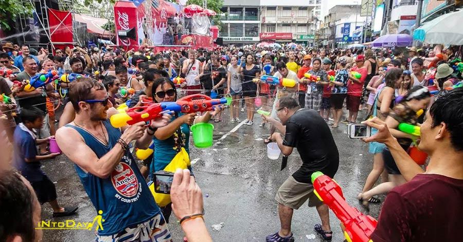 فستیوال آب در پوکت