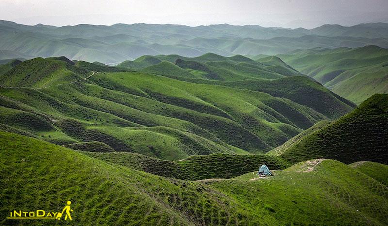 دیدنی های گلستان در شمال ایران