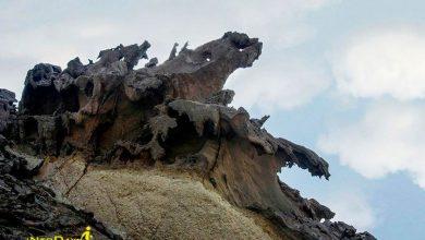 تصویر از دره مجسمه ها در هرمز