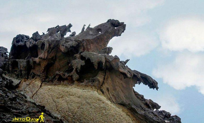 دره مجسمه ها در هرمز