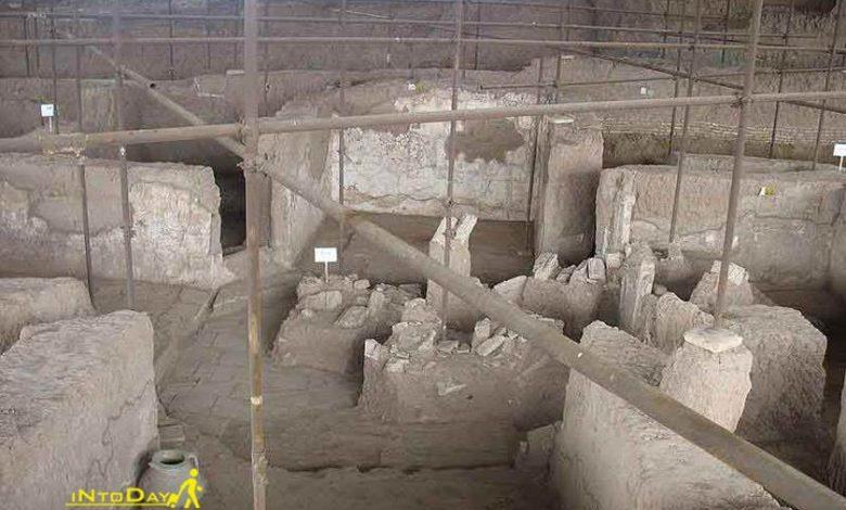 محوطه تاریخی شادیاخ نیشابور