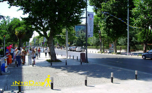 عکس خیابان بغداد استانبول