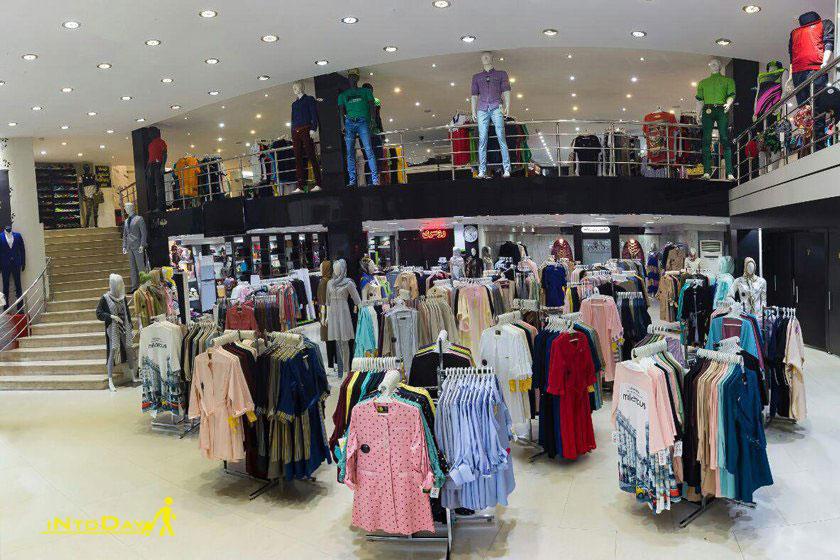 مرکز خرید پوشاک رز رشت
