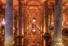 تصویر از مخزن آب باسیلیکا استانبول